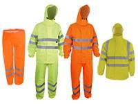 Warnschutz Regenbekleidung