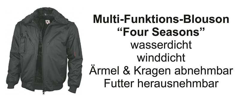 Multi-Funktions-Blouson Four Seasons