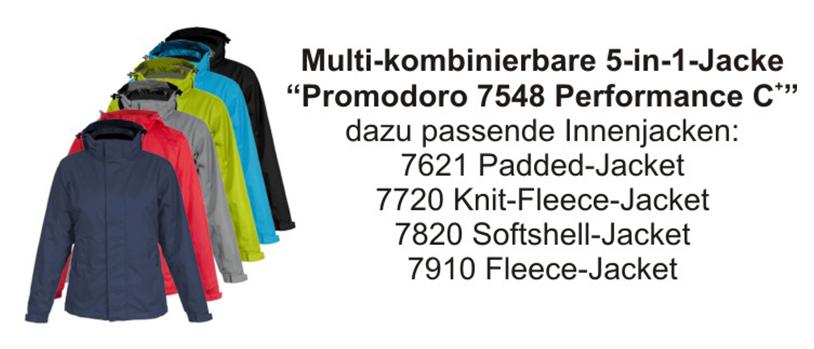 Promodoro 5-in-1 Multikombinierbare Herrenjacke