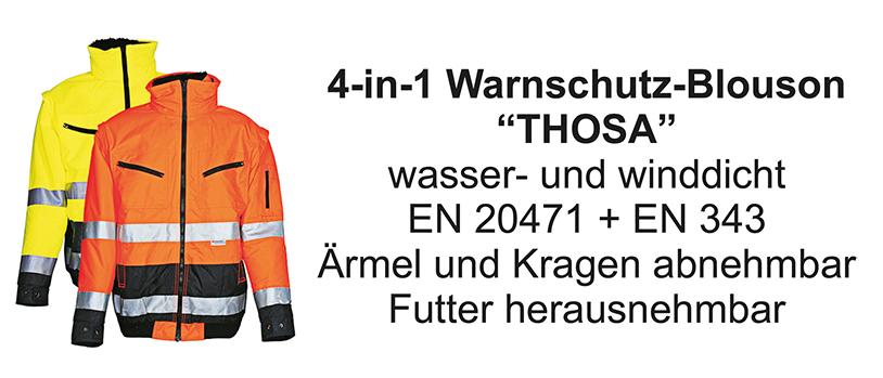 4-in-1 Warnschutz-Blouson Thosa