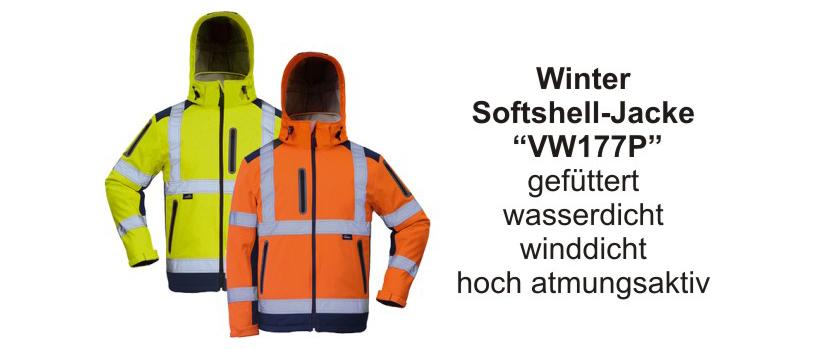 Winter-Softshelljacke VW177P