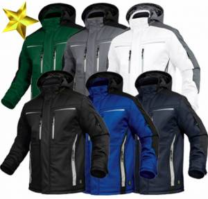 LUXURY WINTER-SOFTSHELL-JACKE - FLEXI -  atmungsaktiv, wasserdicht, windicht, XS-5XL