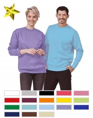 LUXURY-SWEAT-SHIRT - FaPak 1280 - 17 verschiedene Farben, XS-5XL