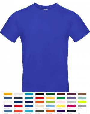 Herren-T-Shirt - B&C #E190 / 019.42 / TU03T - TOP PREIS - bis 3XL - 40 verschiedene Farben