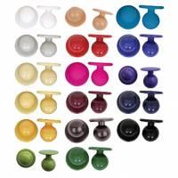 Kugelknöpfe für Kochjacken (12 Stück/Packung) - Exner 090-80 - 17 verschiedene Farben