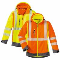 Warnschutz-Softshell-Jacke - 4 Protect 3470/3475 Houston