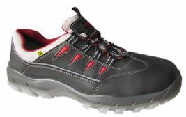 S3-Comfort-Sicherheits-Halbschuh - NITRAS SPORTSTEP LOW 7300 - metallfrei - ESD