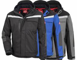 Winter-Softshell-Jacke - NITRAS 7180W/81W/82W -  XS-5XL - atmungsaktiv, wasserdicht, windicht